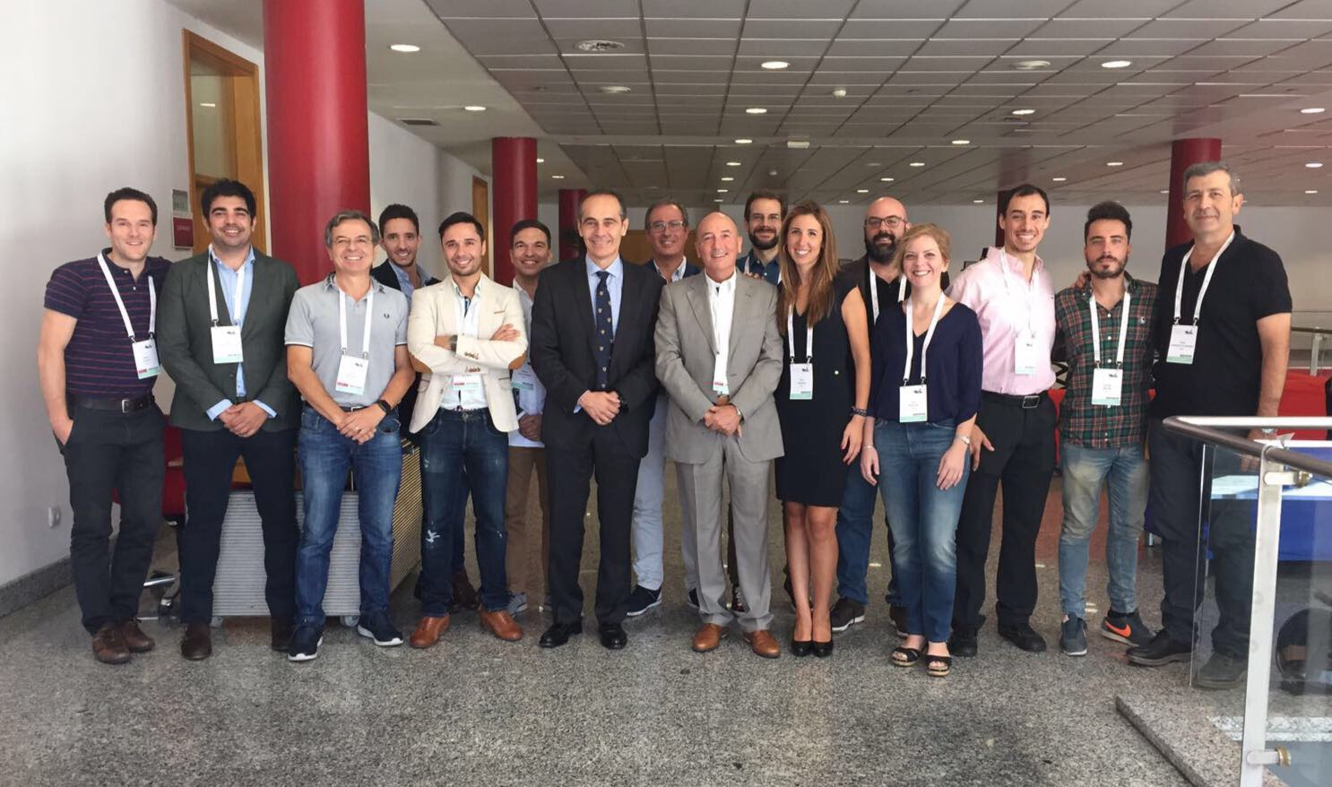 El grupo de profesionales  EAO MSR scientific 2017