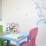 Sala de espera de los niños
